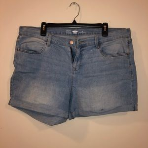 Old Navy Semi Fitted Denim Shorts
